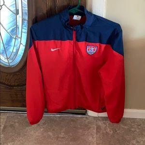 Nike Jacket SOCCER Sports Dri Fit